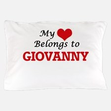 My heart belongs to Giovanny Pillow Case