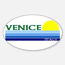 Venice, Italy Oval Decal