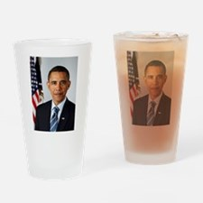 President Barack Obama Drinking Glass