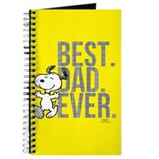 Snoopy - Best Dad Ever Full Bleed Journal