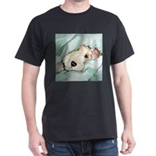 Napping Wire Fox Terrier T-Shirt