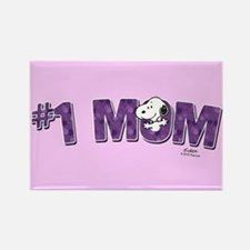 Snoopy - #1 Mom Full Bleed Magnets