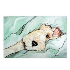 Napping Wire Fox Terrier Postcards (Package of 8)