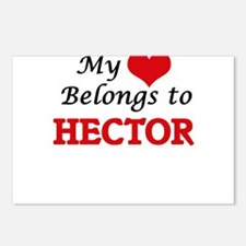 My heart belongs to Hecto Postcards (Package of 8)