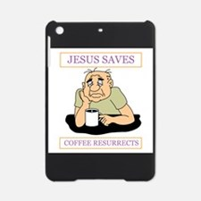 Jesus Saves Coffee Resurrects iPad Mini Case