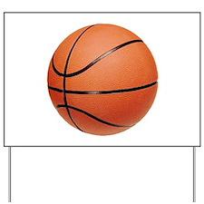 Basketball Yard Sign