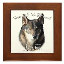 Vallhund Mom2 Framed Tile