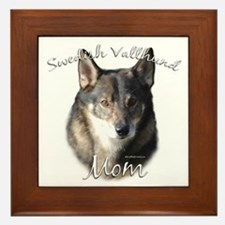 Vallhund Mom2 Framed Tile