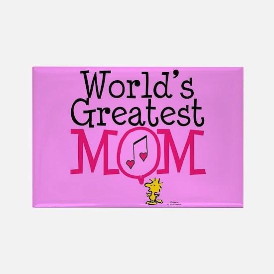 Woodstock - World's Greatest Mom Full Blee Magnets