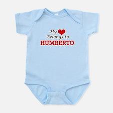 My heart belongs to Humberto Body Suit