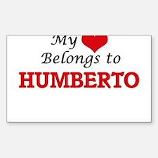 My heart belongs to Humberto Decal