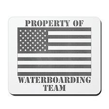 Property of U.S. Waterboarding Team Mousepad