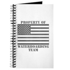 Property of U.S. Waterboarding Team Journal