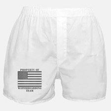 Property of U.S. Waterboarding Team Boxer Shorts