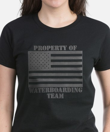 Property of U.S. Waterboarding Team Women's Dark T