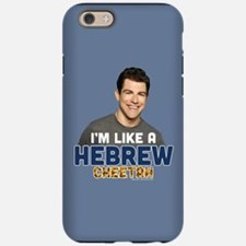 New Girl Hebrew Cheetah iPhone 6/6s Tough Case