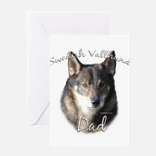 Vallhund Dad2 Greeting Card