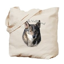 Vallhund Dad2 Tote Bag