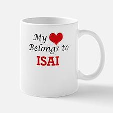 My heart belongs to Isai Mugs