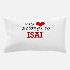 My heart belongs to Isai Pillow Case