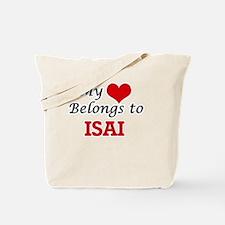 My heart belongs to Isai Tote Bag