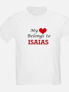 My heart belongs to Isaias T-Shirt
