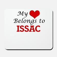 My heart belongs to Issac Mousepad