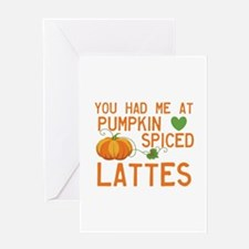 Latte Love Greeting Cards