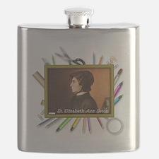 St. Elizabeth Ann Seton Flask