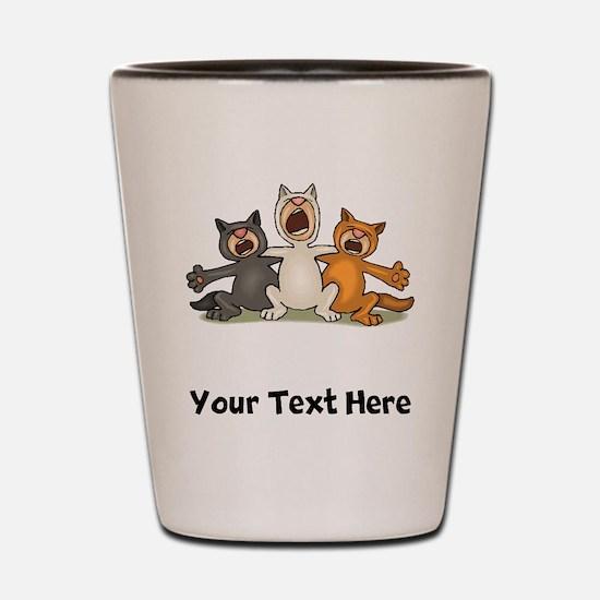 Cat Choir (Custom) Shot Glass