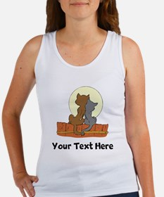 Cats On Fence (Custom) Tank Top