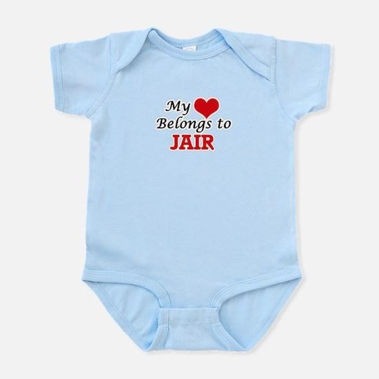 My heart belongs to Jair Body Suit