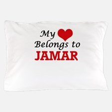 My heart belongs to Jamar Pillow Case