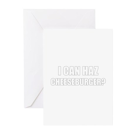 i can haz cheeseburger? Greeting Cards (Pk of 10)