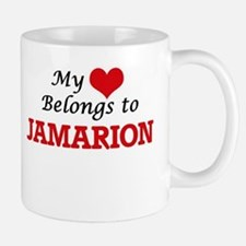My heart belongs to Jamarion Mugs