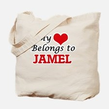 My heart belongs to Jamel Tote Bag