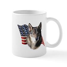 Vallhund Flag Mug