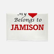 My heart belongs to Jamison Magnets