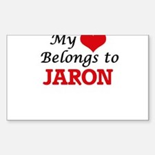 My heart belongs to Jaron Decal