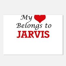 My heart belongs to Jarvi Postcards (Package of 8)