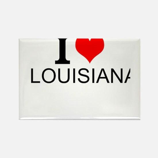 I Love Louisiana Magnets