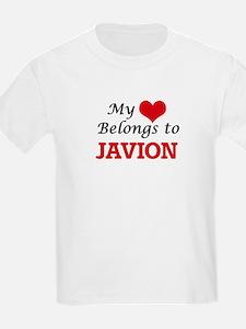 My heart belongs to Javion T-Shirt