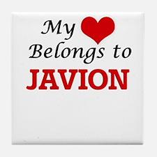 My heart belongs to Javion Tile Coaster