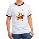 Knight On Horse Ringer T