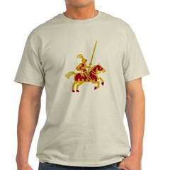 Knight On Horse Light T-Shirt
