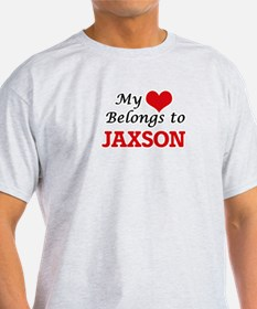My heart belongs to Jaxson T-Shirt