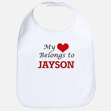 My heart belongs to Jayson Bib