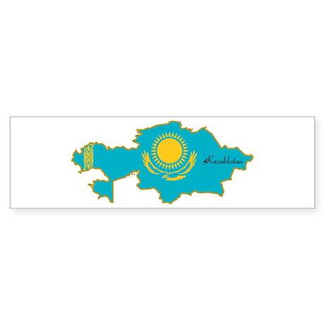 Cool Kazakhstan Bumper Sticker