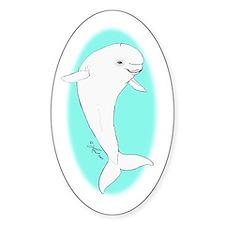 Beluga Oval Decal