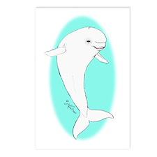 Beluga Postcards (Package of 8)